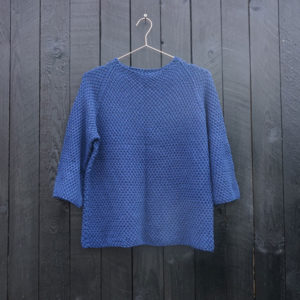 Egyptisk bluse / sweater - strikkeopskrift - Knit Wit Company