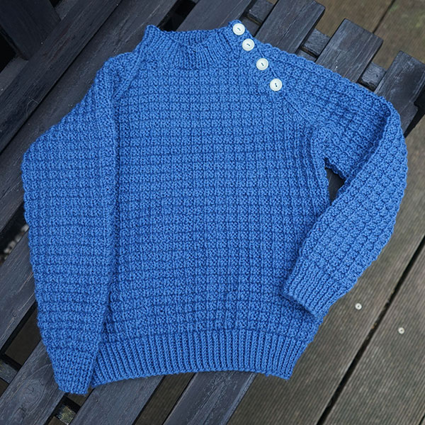 406eeb571 ... knitting pattern for intermediate knitters. 🔍. Kid² id the perfect  unisex sweater for the young child