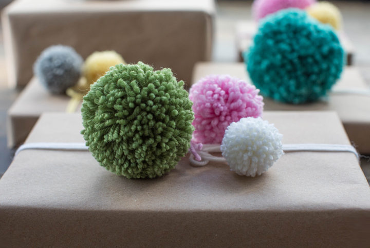 Pompom! How to make a pompom